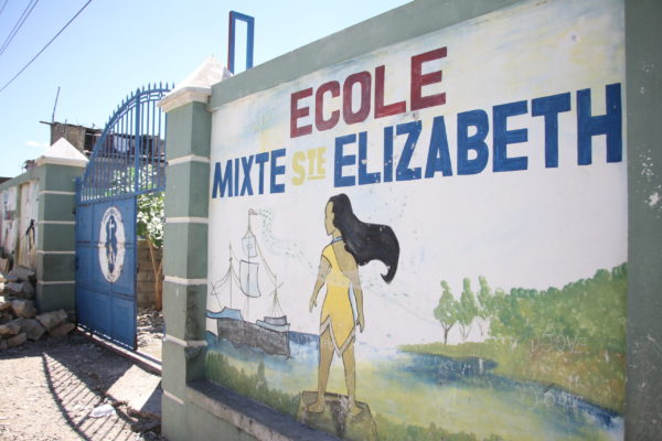Mural for Ecole Mixte STE Elizabeth