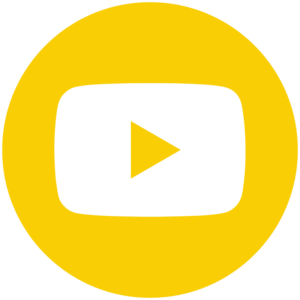 Youtube icon links to youtube channel